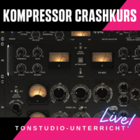 Tonstudio Unterricht - Kompressor Compressor Audio Multibandkompressor Lernkurs wie funktioniert ein Kompressor Einstellungen Workshop Tutorial - Lovetraxx Studios